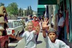 Anat Cohen's sons making a Nazi salute