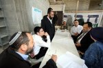 MK Rabbi Avraham Ravitz in Hebron