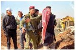 Settlers stealing Palestinian Lands