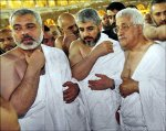 President Abbas, Hanieh, and Meshaal
