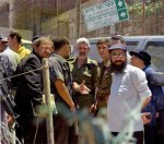 Yigal Sharon, Dan Harael and the leaders of the terrorists at Tel  Rumeida, (Adomt Ishai colonist) in Hebron