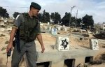 American pogroms desecrating the Muslims Cemetery in Hebron