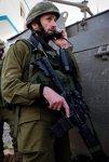 A war criminal Hartzi Halevi during an IDF operation in Gaza