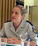 War criminal, Col. Pnina Sharvit-Baruch