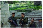 Golani officer and his soldiers