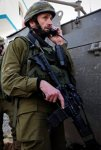Paratrooper Brigade commander, Hartzi Halevi, during an IDF ope