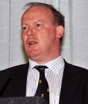 Mr. Conor Lenihan, Irish Minister for Science, Technology, Innovation and Natural Resources.