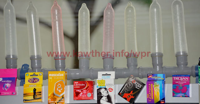 Luxury Condoms peddled at the AIDS 2010 Conference