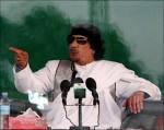 Muammar Gadhafi.