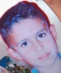 Ahmad Husam Yousef Musa, 9 years old. Victim of Aviv Reshef.