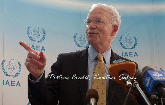 Joseph Macmanus, US Ambassador to the UN and IAEA in Vienna, Austria