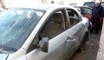 Baian Kablan's car which bombed.