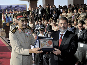 Morsi and tan