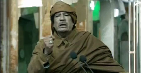 an opinion that muammar al qaddafi was a very dangerous man