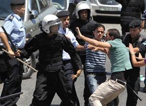 Ramallah-police