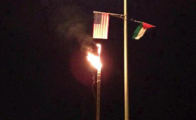 burning US flag (2)