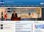 Screenshot of COMSATS website on 2 May 2011 showing David Cameron.