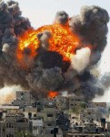 "Image from Gaza during the Israeli so called ""Operation Cast Lead"""