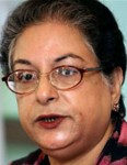 Hina Jilani, UN Special Representative on Human Rights Defenders.