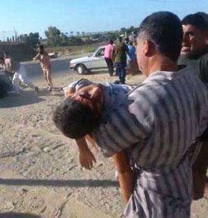 injured in Gaza