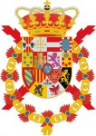 Armar Grandes of the Royal House of Spain, displaying the Arms of Jerusalem (Credit: Eduardo García Penacho y Osset)