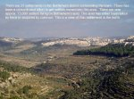 A view on the illegal settlement of Gilo near Bethlehem. Har Gilo is to the left of this view.