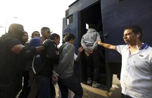 students arrest