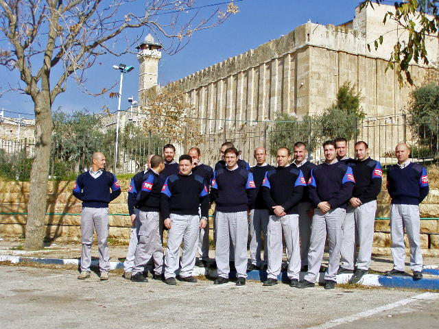 TIPH Team in Hebron
